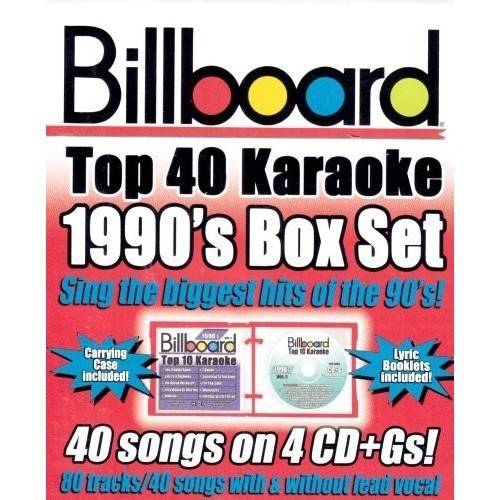 Billboard Top 40 Karaoke - Billboard 1990's Top 40 Karaoke Box Set [CD]