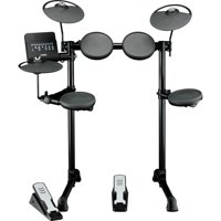 Yamaha DTX402K 5-piece Electronic Drum Set Electronic Drum Kit Included Rubber Pads, 3 x Cymbals and DTX402 Sound Module