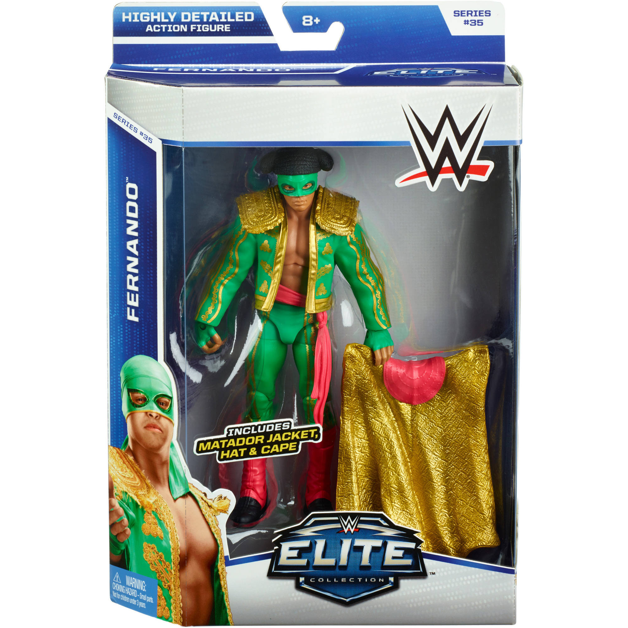 WWE Elite Fernando Action Figure