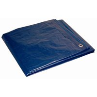 00057 5 X 7' Blue Poly-Tarp(10X8 Weave), Foremost Tarp Co Inc, EACH, EA, 10x8 we