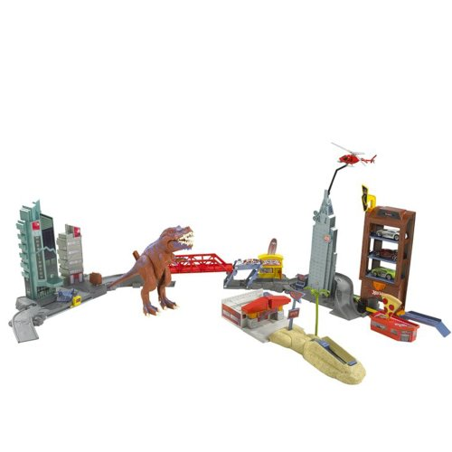 Mattel Hot Wheels T-REX Rampage Play Set