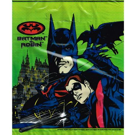 Batman Vintage 1997 'Batman & Robin' Favor Bags (8ct) - Batman And Robin Party Decorations