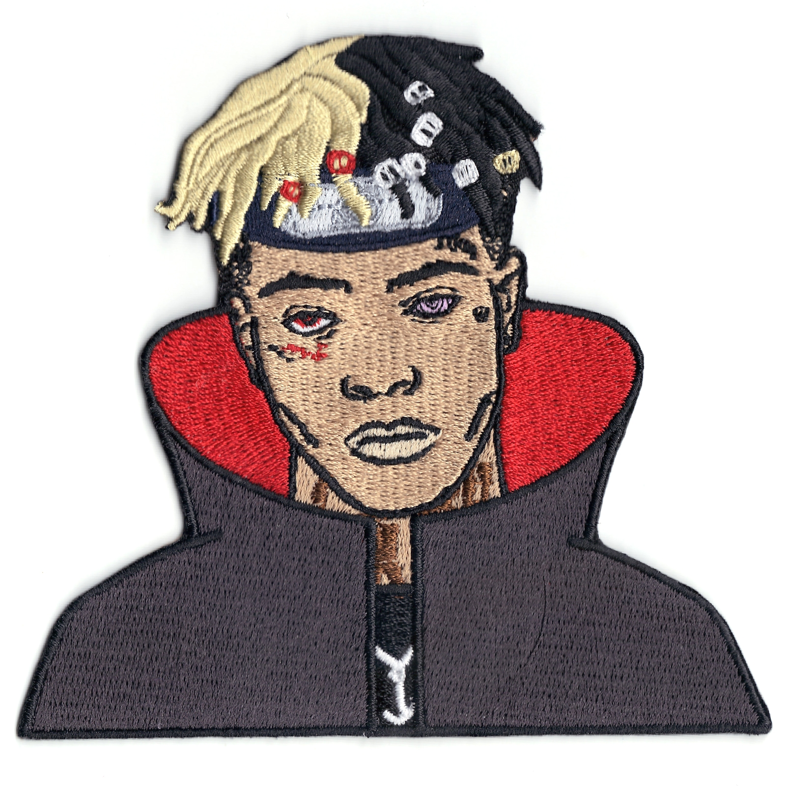 Anime XXXtentacion With Cape Iron On Patch