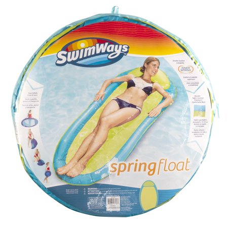 SwimWays Original Spring Float - Floating Swim Hammock for Pool or -