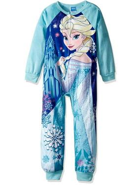 Product Image Disney Girls  Frozen Elsa Minky Blanket Sleeper 9a3f40615