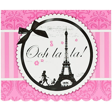 paris damask invitations 8pk walmart com
