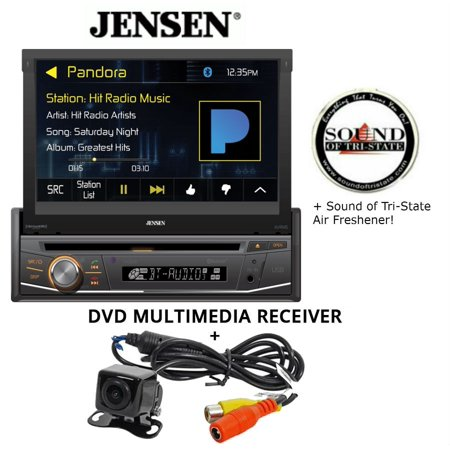 Jensen VX3518 DVD receiver and Backup Camera and a SOTS Air Freshener