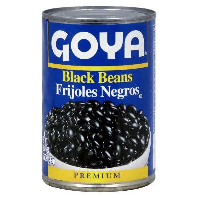 Goya Black Beans 15.5 oz by