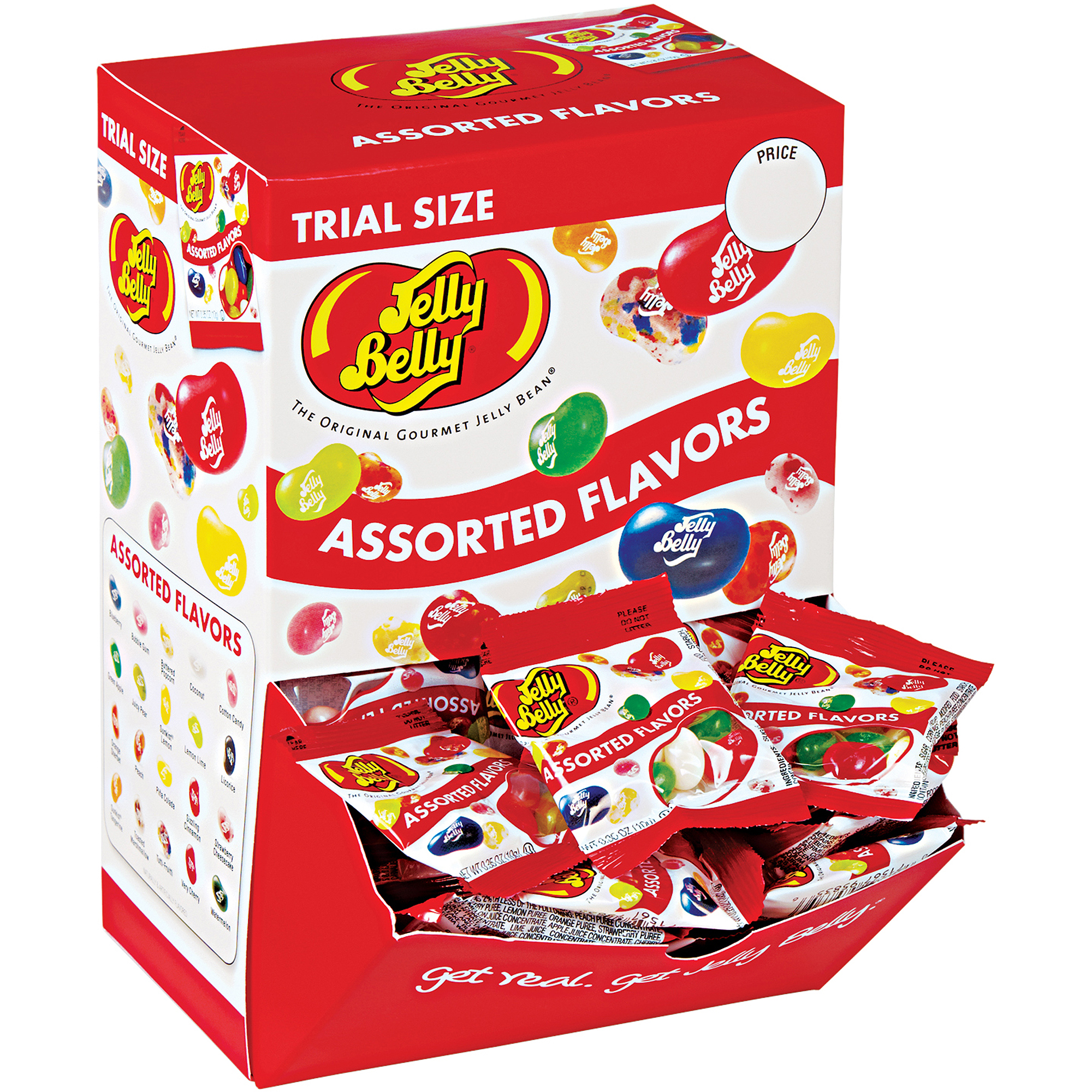 Jelly Belly Assorted Flavors Jelly Beans, 0.35 oz, 80 count