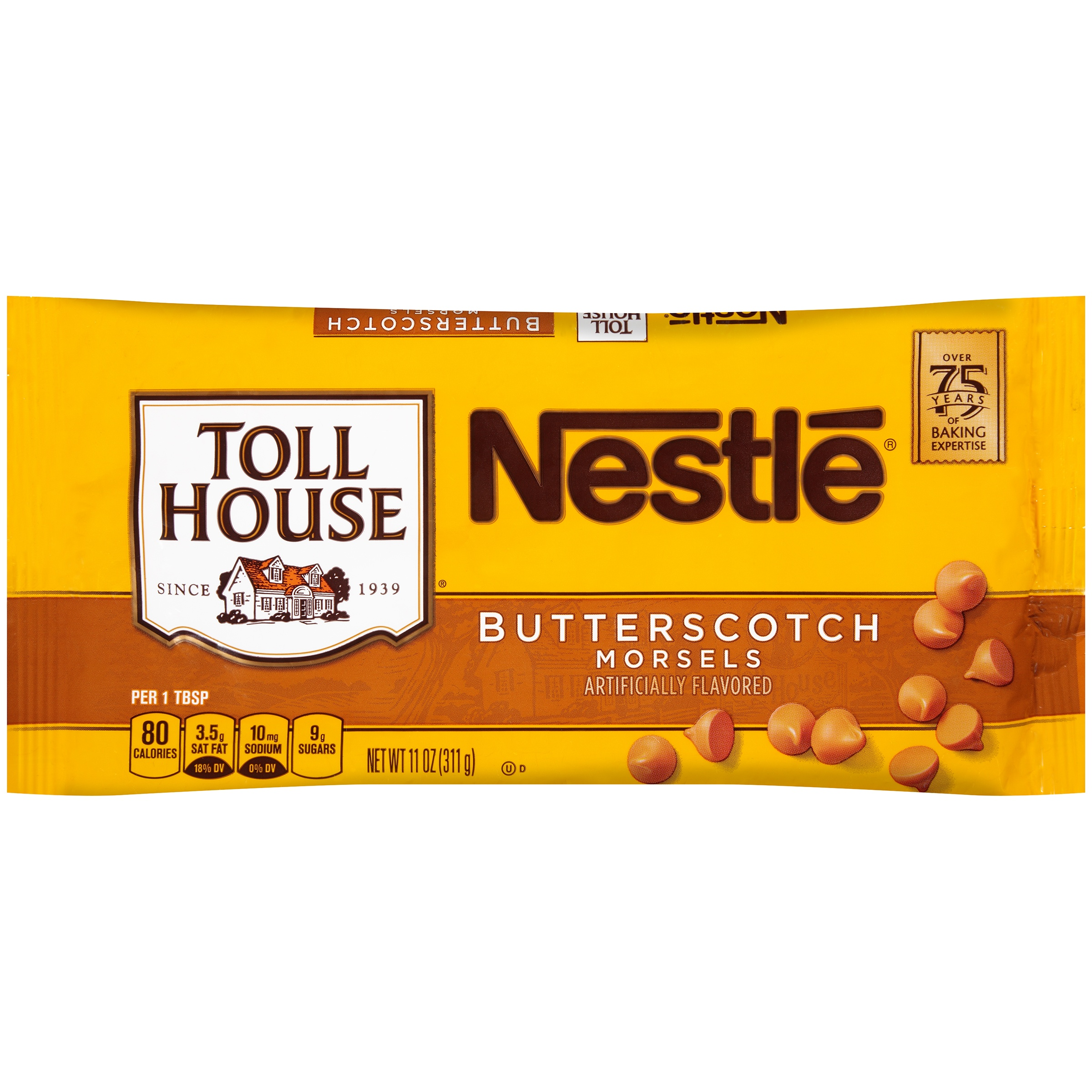 Nestle TOLL HOUSE Butterscotch Morsels 11 oz. Bag