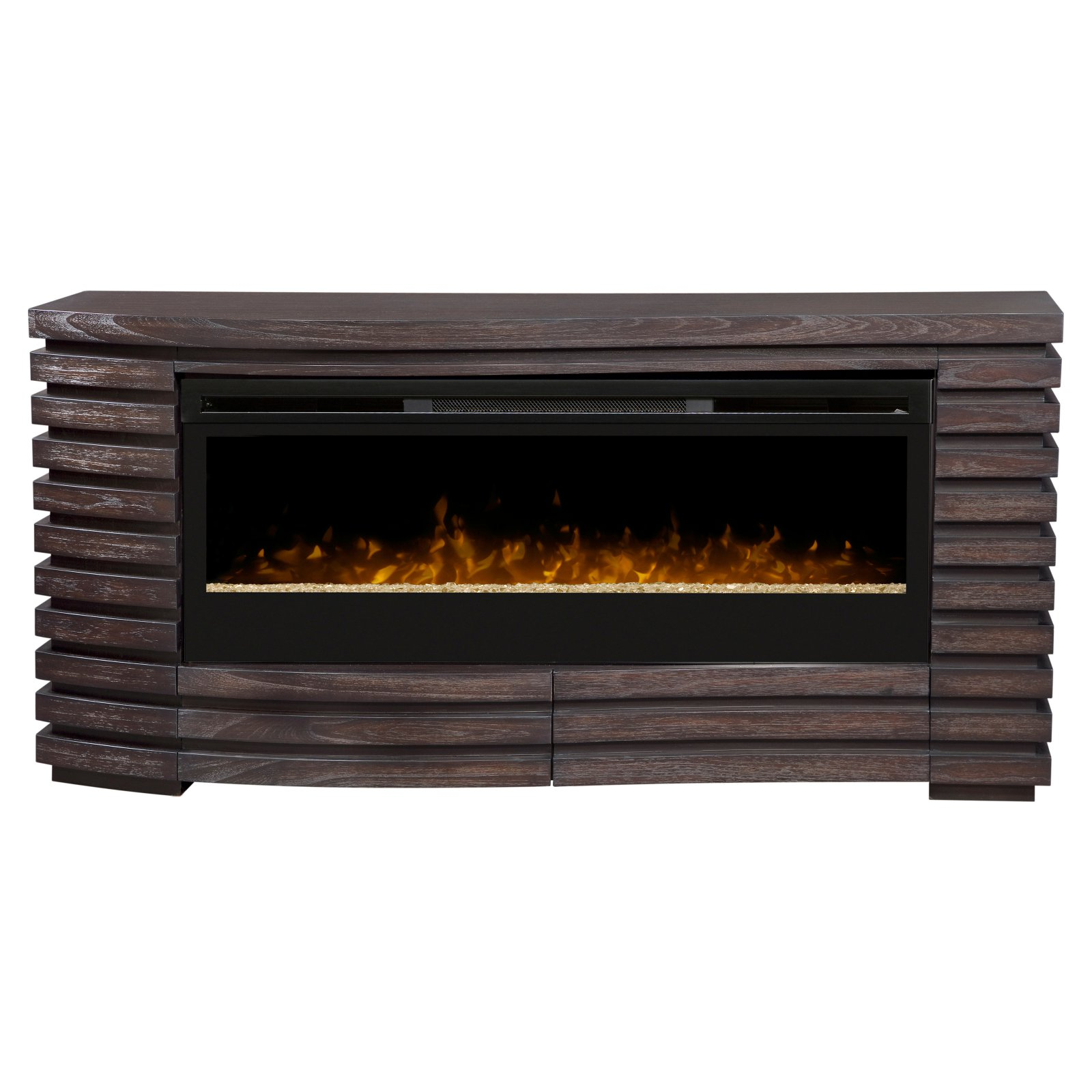 Dimplex Elliot Mantel Fireplace With Glass Ember Bed, Hawthorne