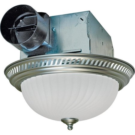 Air King Drlc702 Decorative Round Exhaust Fan Light Combo 2 60 W