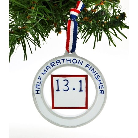 13.1 Half Marathon Medal Personalized Christmas Ornament DO-IT ...