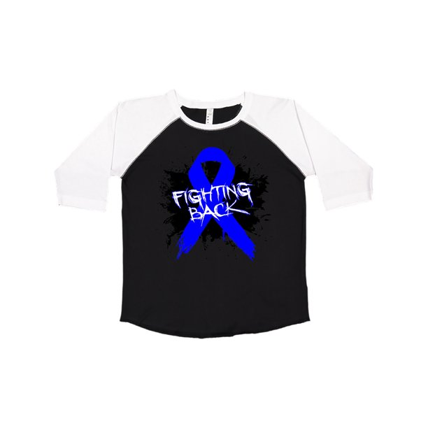Colon Cancer Fighting Back Youth T Shirt Hdd Walmart Com Walmart Com