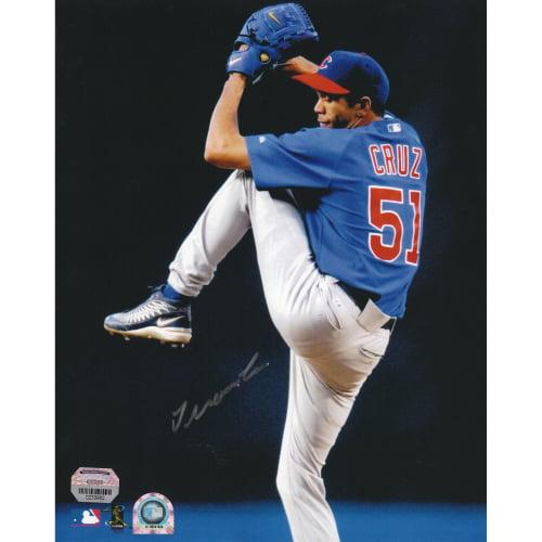 """Juan Cruz Chicago Cubs Fanatics Authentic Autographed 8"""" x 10"""" Pitching Photograph - No Size"""