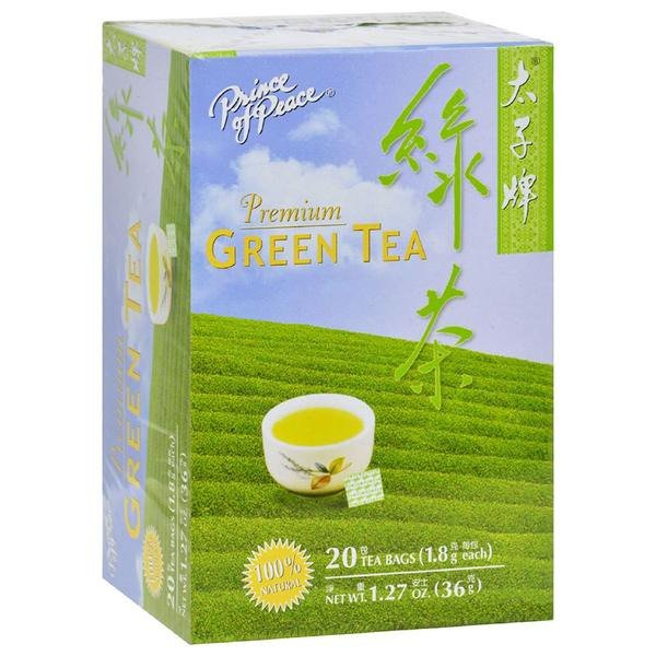 Premium Green Tea Prince Of Peace 20 Tea Bag