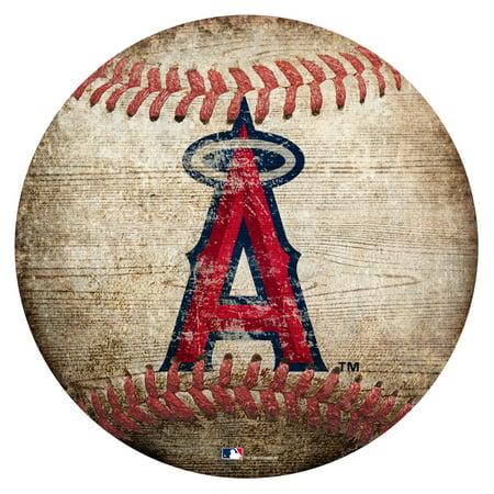 Los Angeles Angels 12'' x 12'' Baseball Sign - No