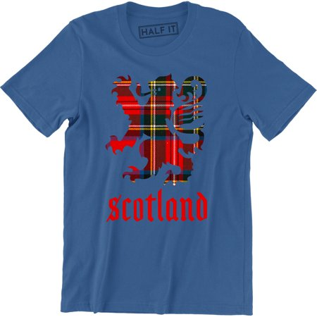Scotland Lion Crest Est Pride Flag Patch soccer Scots Scottish futbol T-Shirt Soccer Sport Futbol Old Shirt