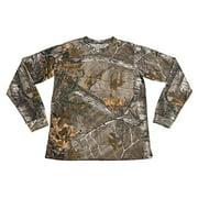 XTREEMGEAR  Mens Camo 100% Cotton Full Sleeve Hunting Zone Shirt Brand New