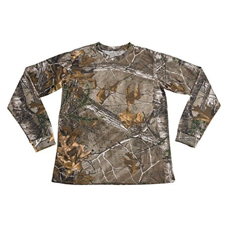 XTREEMGEAR  Mens Camo 100% Cotton Full Sleeve Hunting Zone Shirt Brand New