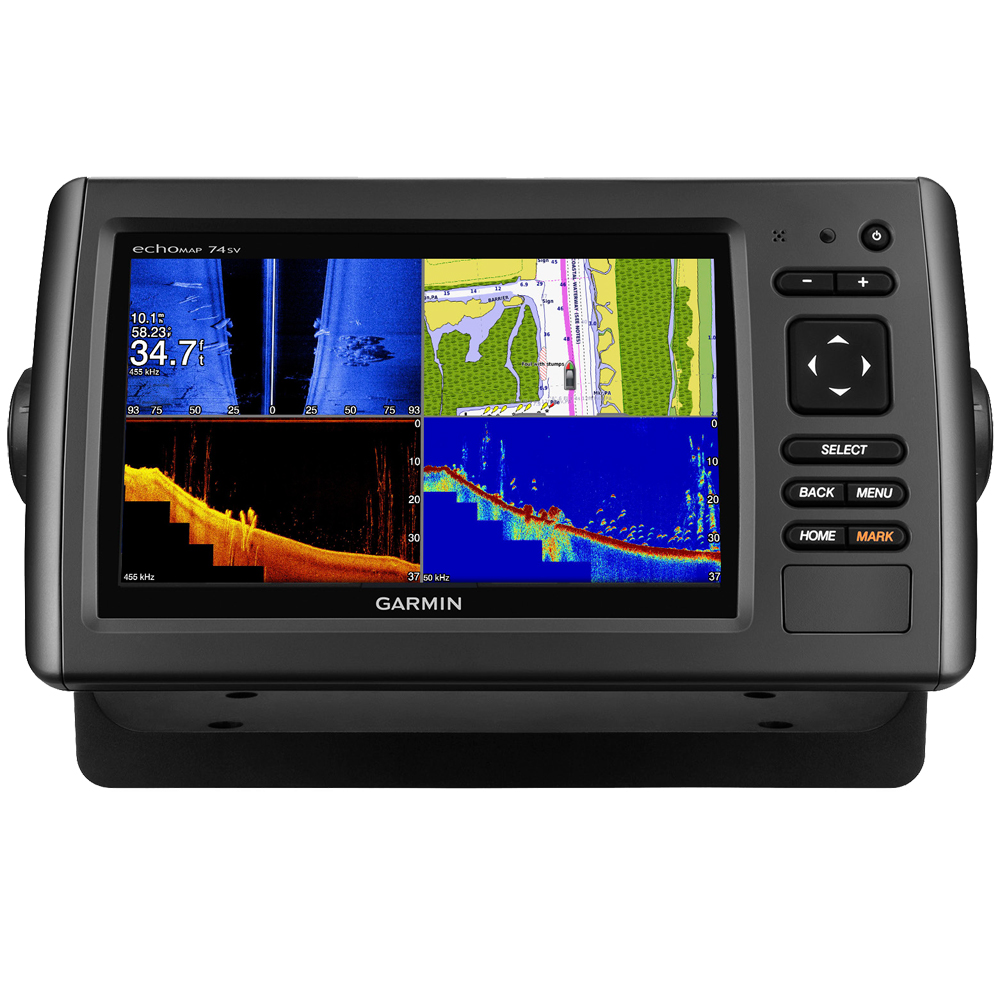 echoMAP CHIRP 74sv, US Coastal, No Xdcr