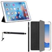 "iPad Pro Case - DigitalsOnDemand ® Ultra Slim Fitted Bumper Edge Hard Leather Case and Bonus 2in1 Stylus Pen for Apple iPad Pro 12.9"""
