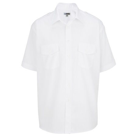 Ed Garments Mens' Performance Security Shirts, WHITE, X-Large Tall (Columbia Security Check Shirt)