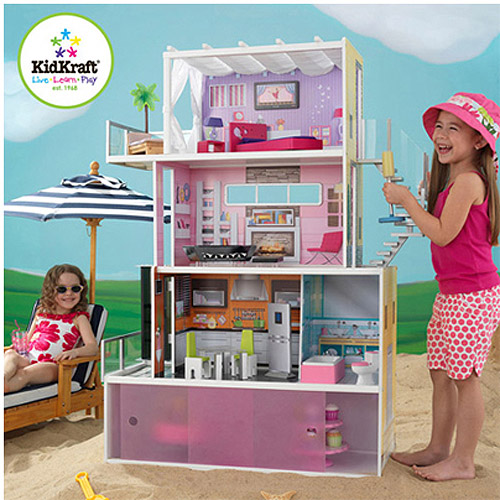 KidKraft Beachfront Mansion Dollhouse