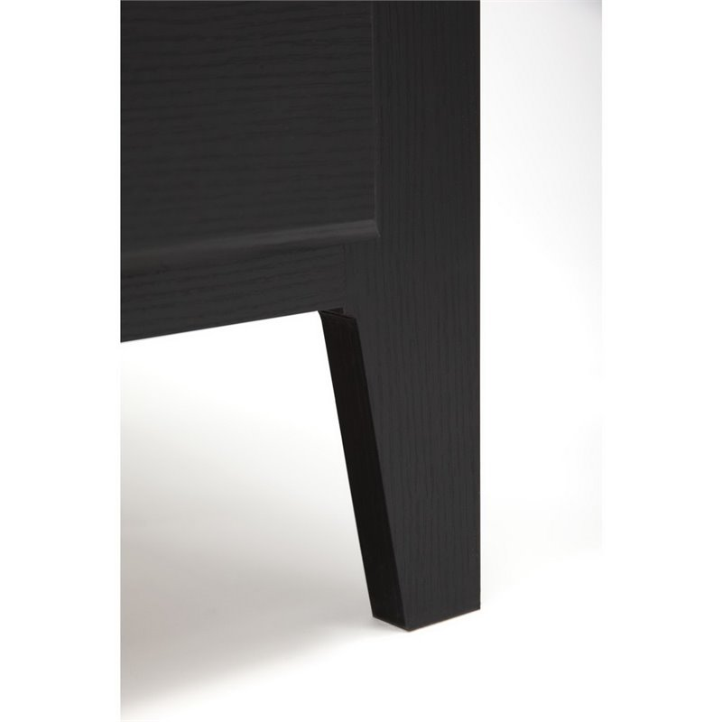 "Kathy Ireland by Bush Connecticut 60"" L Desk in Black Suede Oak - image 10 de 11"