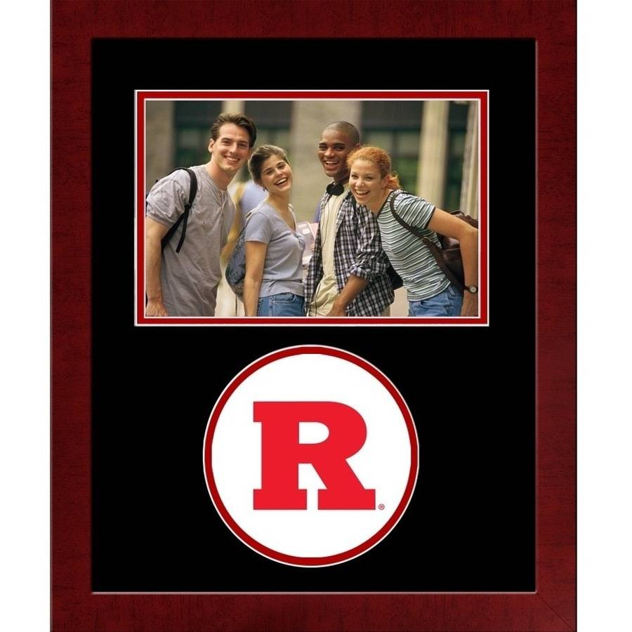 Rutgers Scarlet Knights Spirit Photo Frame (Horizontal)