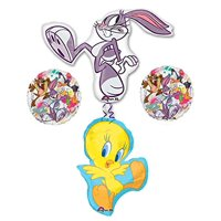 Bugs Bunny and Tweety Bird Looney Tunes Balloon Bouquet Decorations