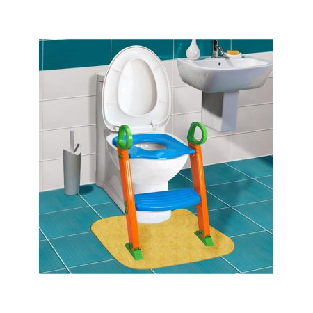 7b4a4b582 Kids Potty Training Seat with Step Stool Ladder for Kids Toddler Child  Toddler Children Toilet Chair - Walmart.com