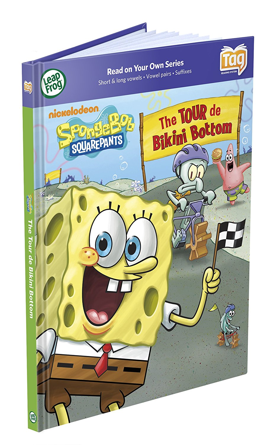 Tag Activity Storybook Spongebob Squarepants: The Tour De Bikini Bottom, Use your Tag... by
