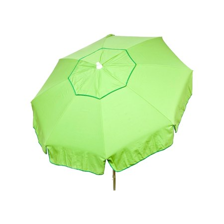 6ft Italian Market Tilt Umbrella Home Patio Canopy Sun Shelter Lime -