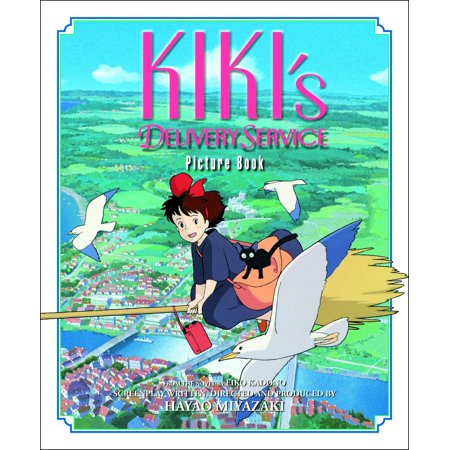 Kiki's Delivery Service Picture Book (Choosing The Best Home Water Delivery Service)