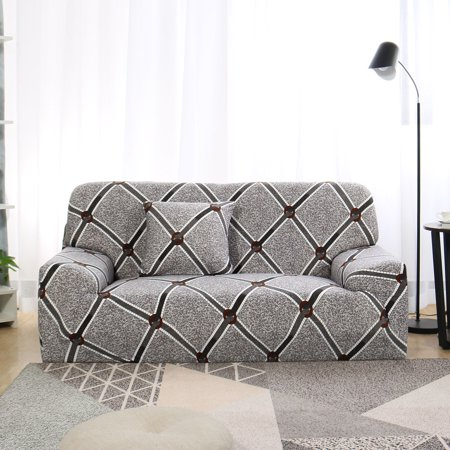 """1/2/3/4 Seater Elastic Sofa Cover Stretch Slipcover Couch #B 92""""-122"""" - image 8 of 8"""