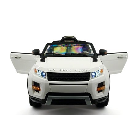 2018 Rover  Kids Electric Ride-On Car  2-6 years boys and girils 12V MP Leather Seats LED Wheels LED Body Trim 2.4Ghz Parental Remote Control 6 Wheel Range Rover