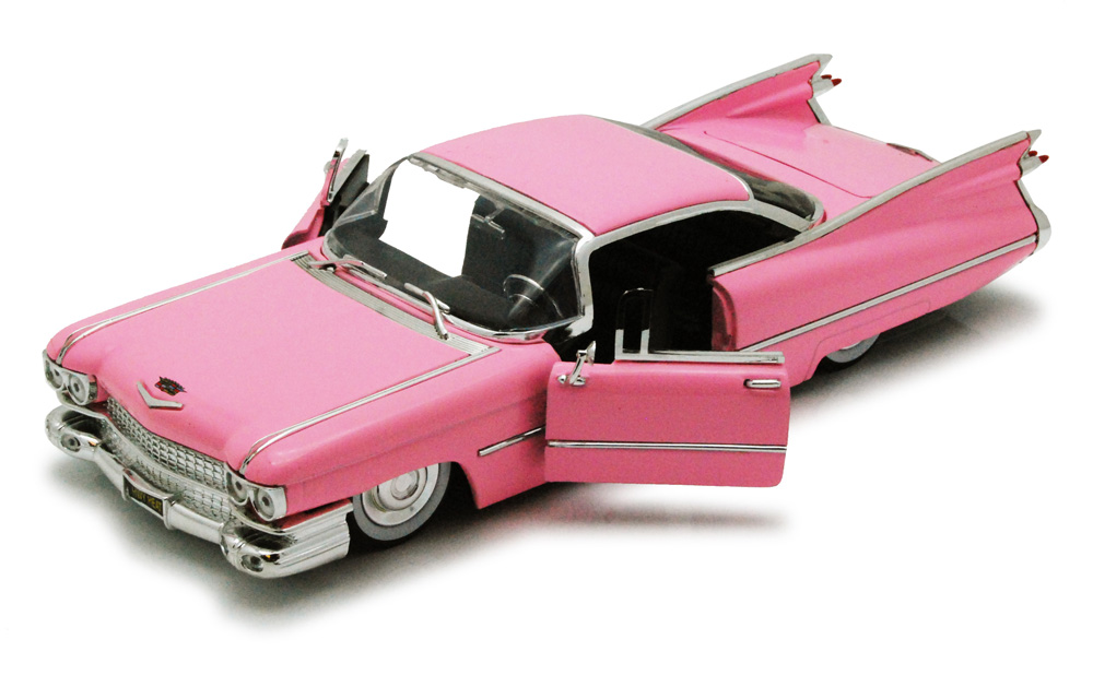1959 Cadillac Coupe De Ville, Pink Jada Toys Bigtime Kustoms 96801 1 24 scale Diecast... by Jada