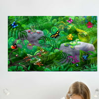 Wallhogs Jungle Critters Wall Mural