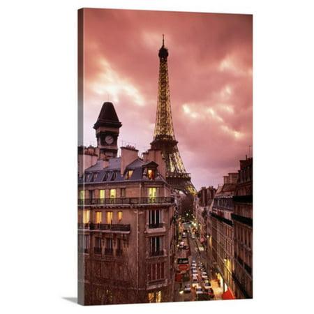 Great BIG Canvas Eiffel Tower Paris France Vertical Canvas Wall Art ...
