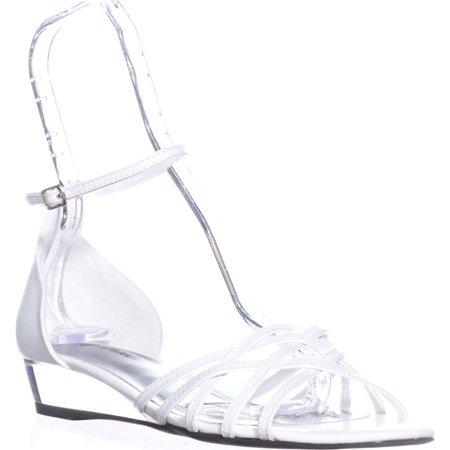 65082c95443 Easy Street - Womens Easy Street Tarrah Ankle Strap Wedge Sandals ...