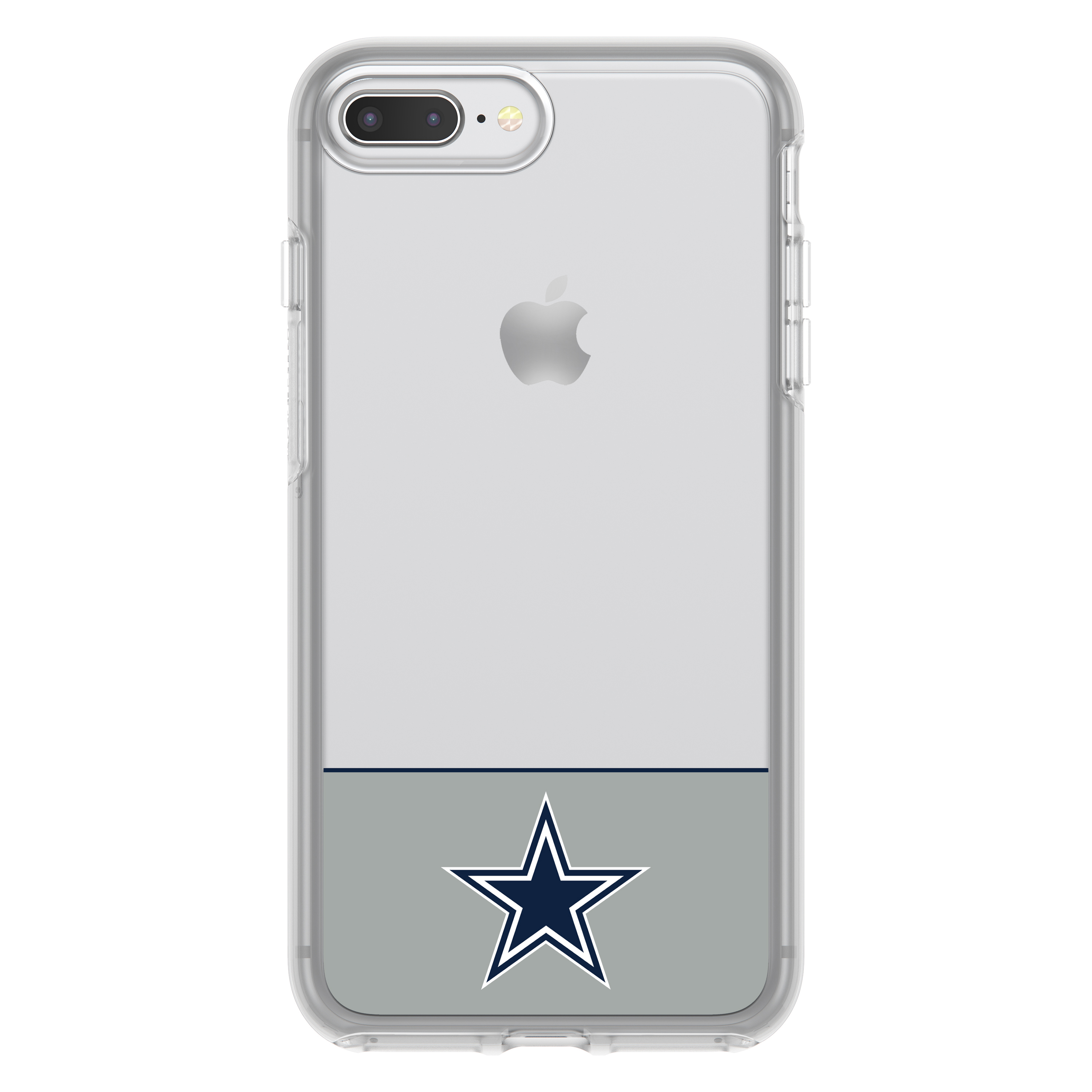 huge discount ede41 1be93 OtterBox NFL Symmetry Clear Series Case For iPhone 8 Plus / 7 Plus, NFL  Cowboys