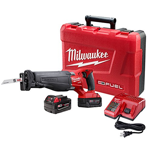 Milwaukee 2720-22 M18 Fuel Sawzall 2 Bat Kit by Milwaukee Electric Tool Corp
