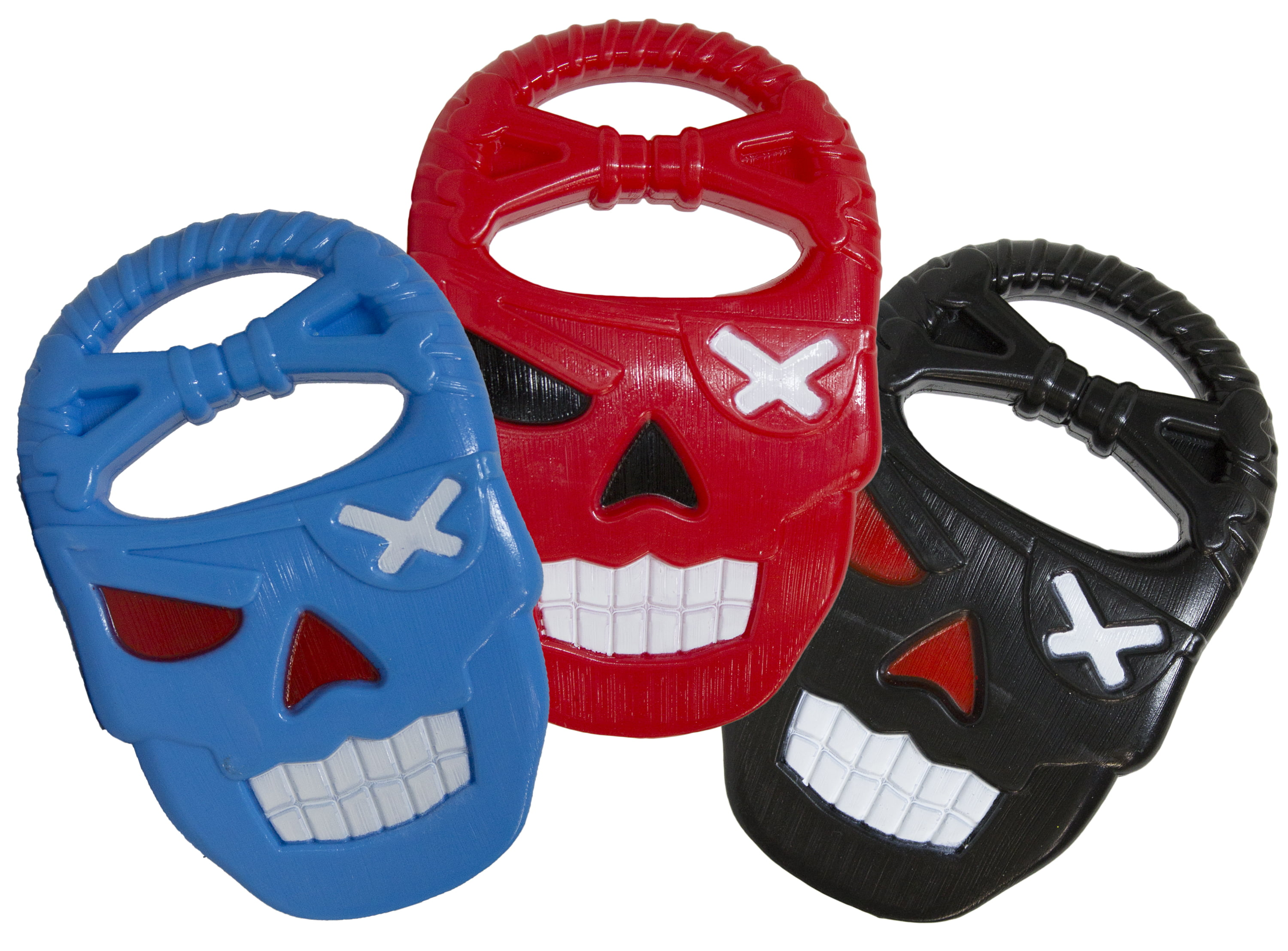 Beach Toys Set of 3 Pirate Skull Sand Digger Digging Claws by Fun Stuff