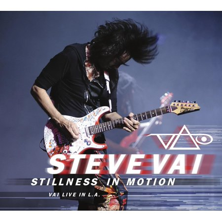 Stillness in Motion: Vai Live in L.A., By Steve Vai Format Audio CD From (Vai Audio)