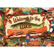 Welcome to the Lake 1000 Piece Puzzle,  Cottage Living by Willow Creek Press