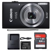 Canon Powershot Ixus 185 / ELPH 180 20MP Compact Digital Camera Black with 64 GB Memory Card - Best Reviews Guide