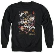 Labyrinth Right Words Mens Crewneck Sweatshirt