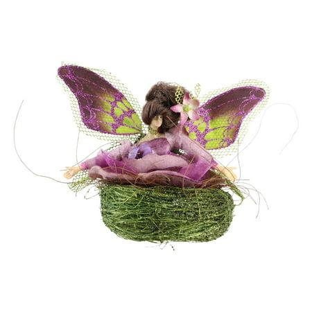Allstate 5 in. Princess Garden Butterfly Fairy Novelty Ornament (Butterflies And Fairies)
