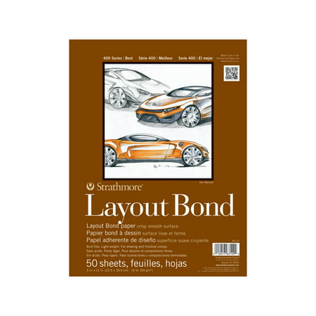 "Strathmore Layout Paper Pad, 400 Series, 9"" x 12"""